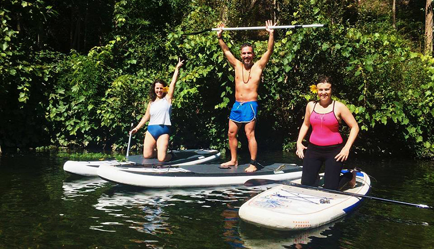 oat stand up paddle tour